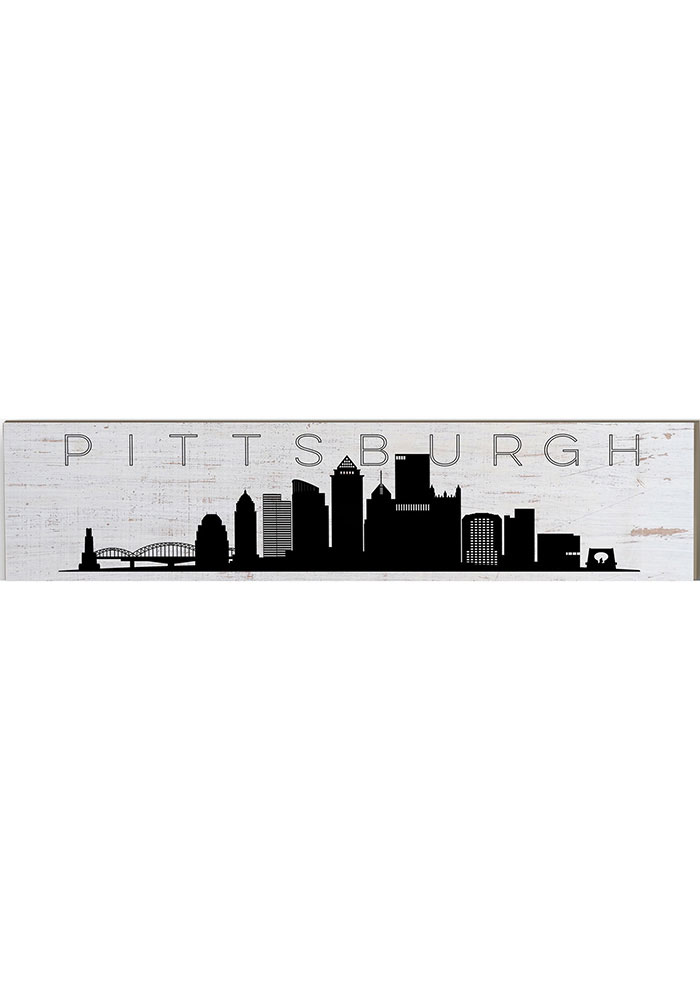 Pittsburgh Skyline Table Top Sign Sign - Image 1