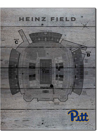 Pitt Panthers 16x20 Seating Chart Sign