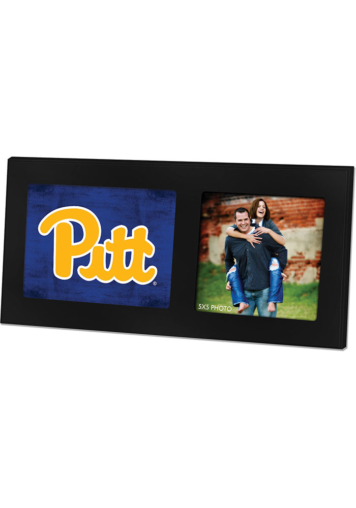 Pitt Panthers 8x16 Color Logo Picture Frame - Image 1