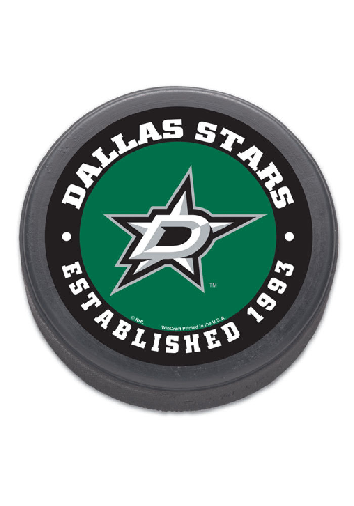 Dallas Stars Logo Hockey Puck - Image 1