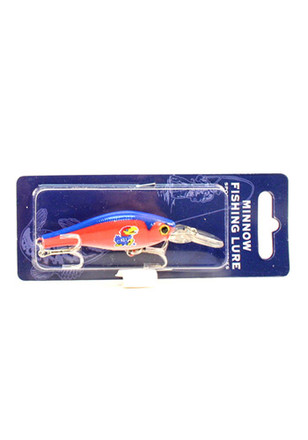 Kansas Jayhawks Team Color Fishing Lure