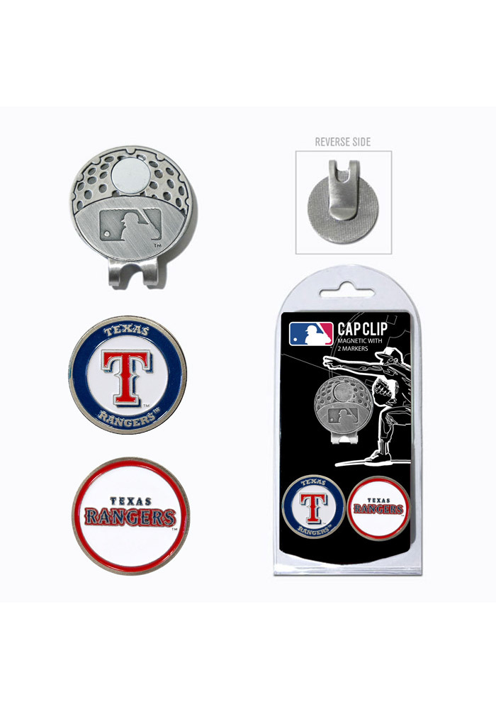 Texas Rangers Ball Markers and Cap Clip - Image 1