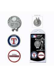 Texas Rangers Ball Markers and Cap Clip