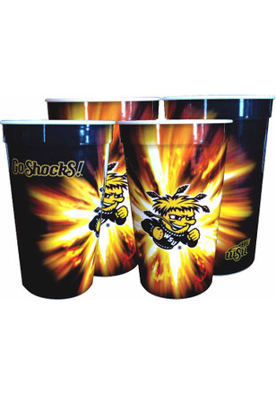 Wichita State Shockers 22oz Disposable Cups