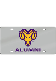 West Chester Golden Rams Alumni Car Accessory License Plate