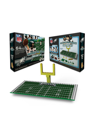 Philadelphia Eagles Endzone Set Collectible Oyo Set