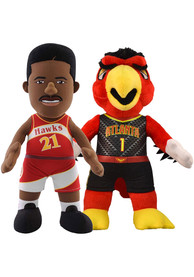 Atlanta Hawks Harry and Dominique Bundle 10 inch Plush