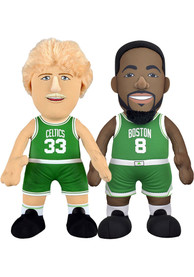 Boston Celtics Larry Bird and Kemba Walker Bundle 10 inch Plush
