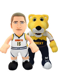 Denver Nuggets Rocky and Nikola Jokic Bundle 10 inch Plush