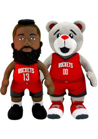 Houston Rockets Clutch and James Harden Bundle 10 inch Plush