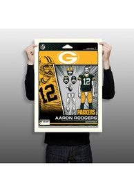 Aaron Rodgers Green Bay Packers Aaron Rodgers Unframed Poster