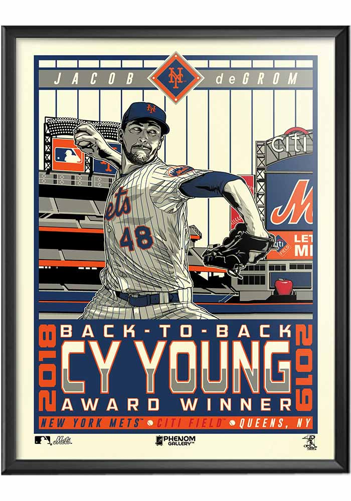 New York Mets Mets Jacob Framed Posters - Image 1