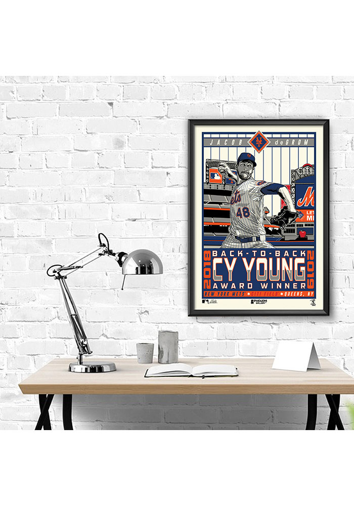 New York Mets Mets Jacob Framed Posters - Image 2