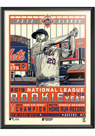 New York Mets Mets Pete Framed Posters