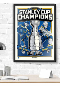 St Louis Blues 2019 Stanley Cup Champions Framed Posters