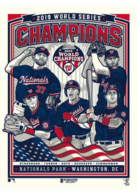 Washington Wizards 2019 World Series Champions Unframed Poster
