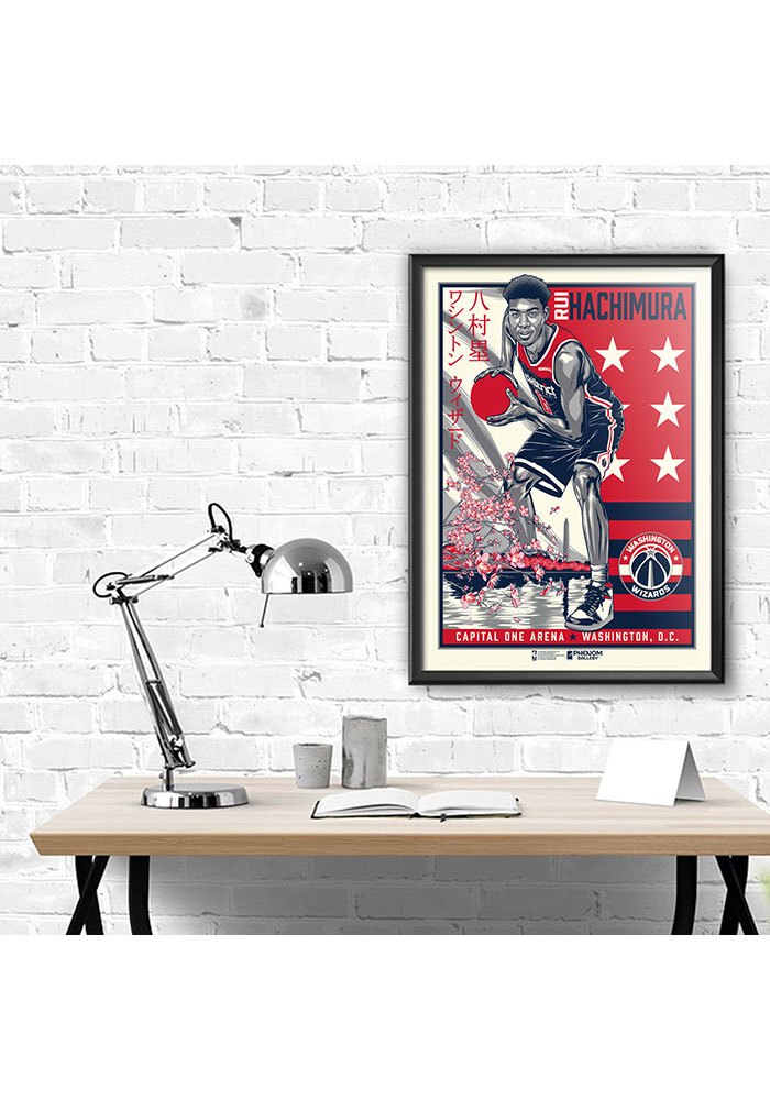 Washington Wizards Rui Hachimura Framed Posters - Image 1