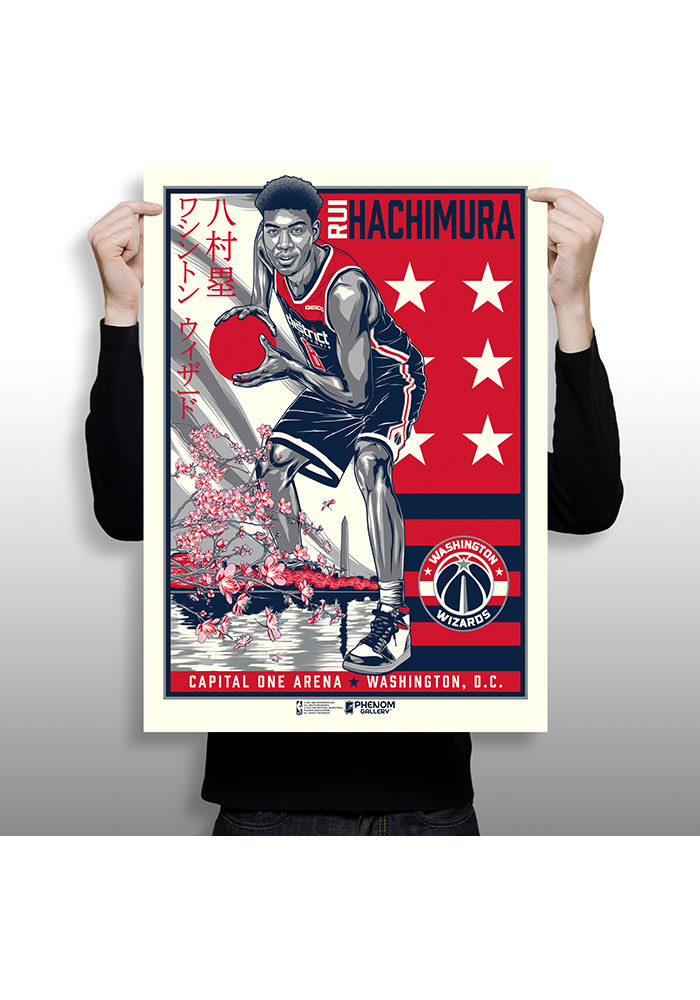 Washington Wizards Rui Hachimura Framed Posters - Image 3