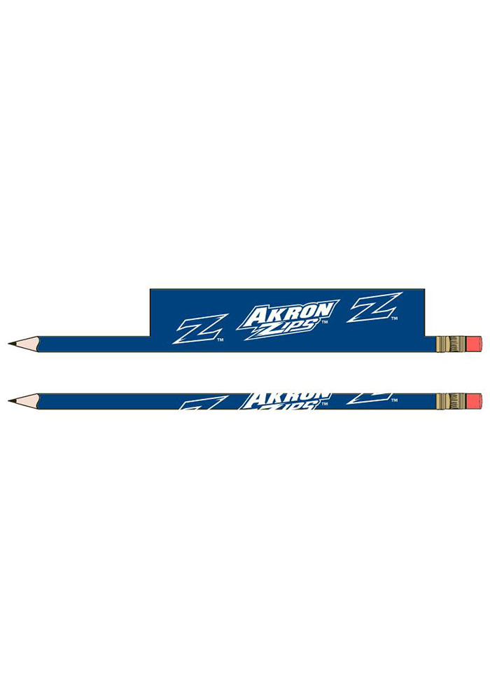 Akron Zips 5-Pack Pencil - Image 1