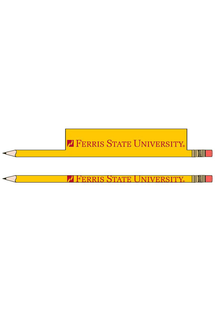 Ferris State Bulldogs 5-Pack Pencil - Image 1