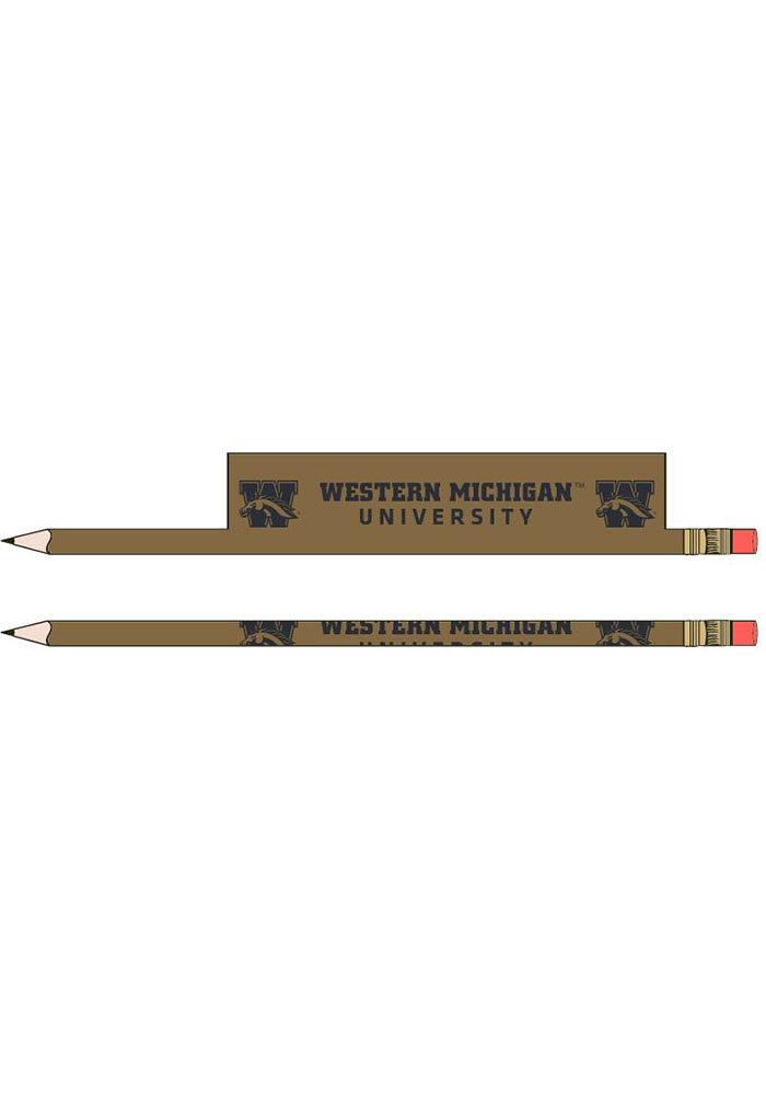 Western Michigan Broncos 5-Pack Pencil - Image 1