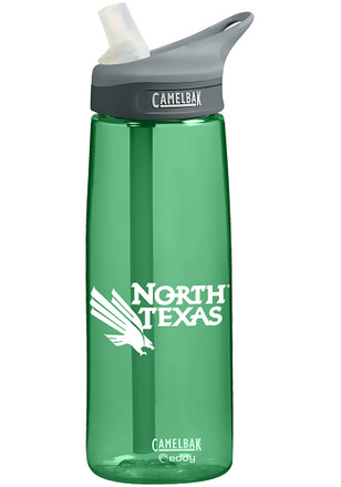 North Texas Mean Green CamelBak .75L Eddy Water Bottle
