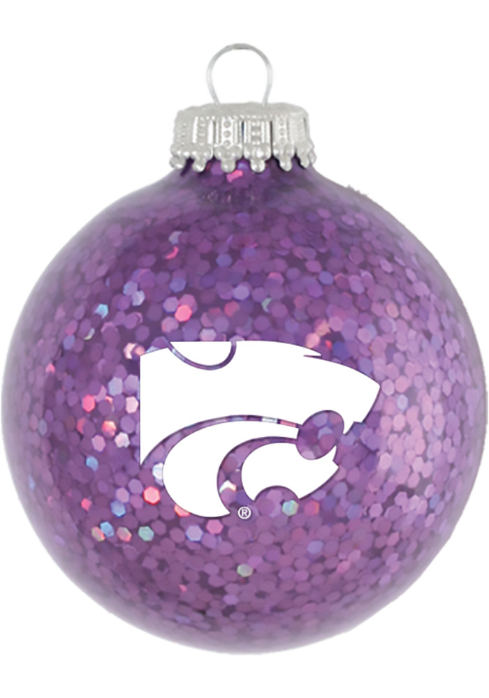 K-State Wildcats Sparkle Ornament - Image 1