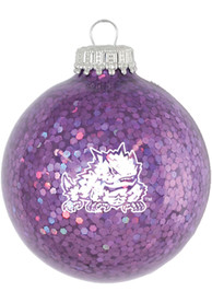 TCU Horned Frogs Sparkle Ornament