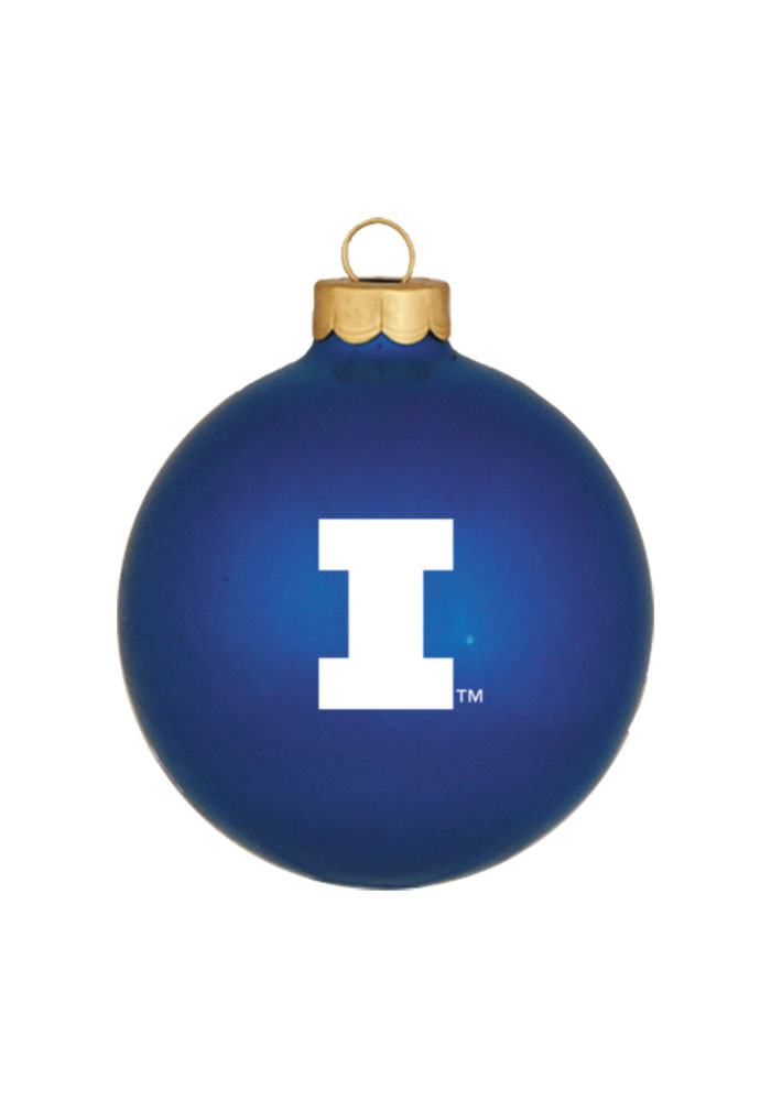 Illinois Fighting Illini Matte Ornament - Image 1