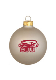 Saint Josephs Hawks Matte Ornament