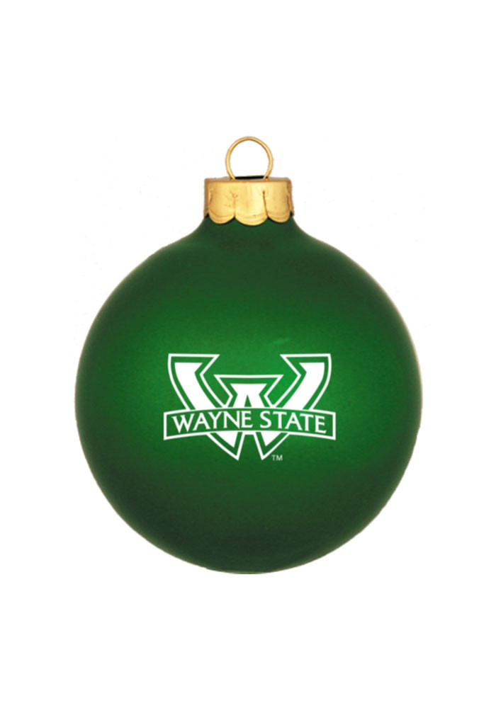 Wayne State Warriors Matte Ornament - Image 1