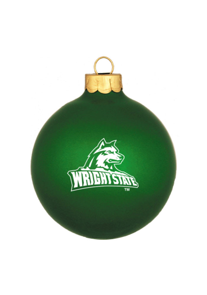 Wright State Raiders Matte Ornament - Image 1