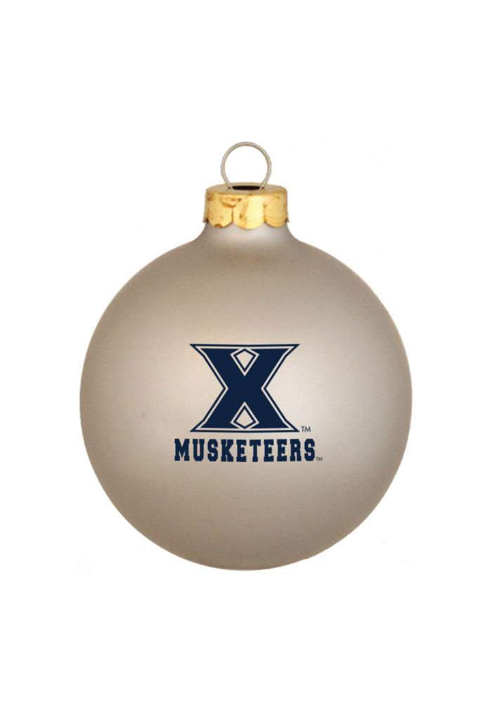Xavier Musketeers Matte Ornament - Image 1