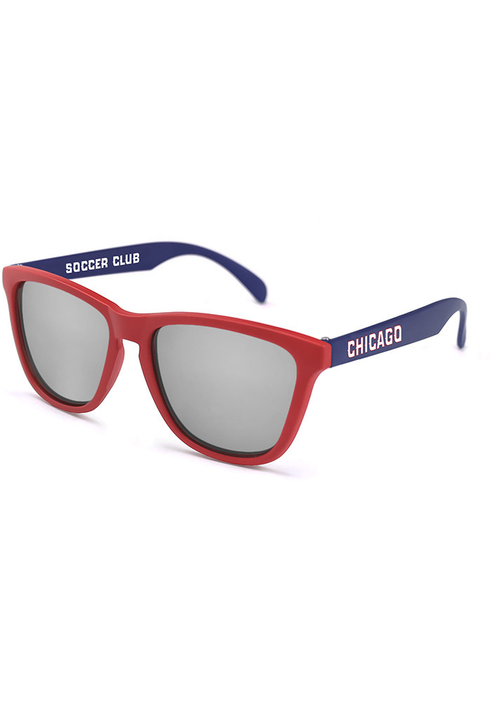 Chicago Fire Team Color Mens Sunglasses - Image 1