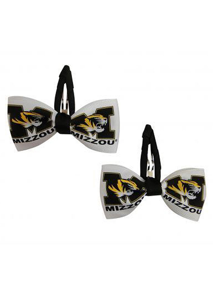 Missouri Tigers Clippies Baby Hair Barrette - Image 1