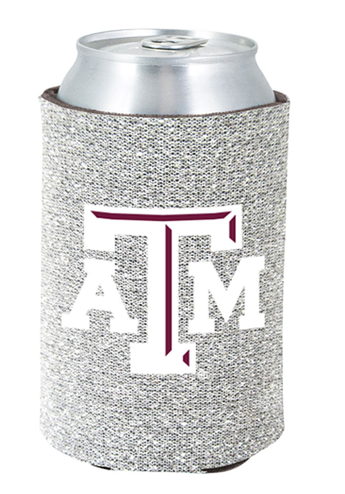 Texas A&M Aggies Glitter Can Coolie - Image 1