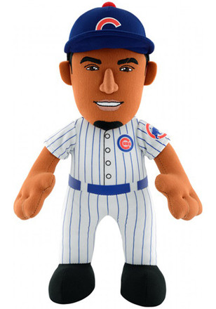 Chicago Cubs Javier Baez 10in Player Plush Plush