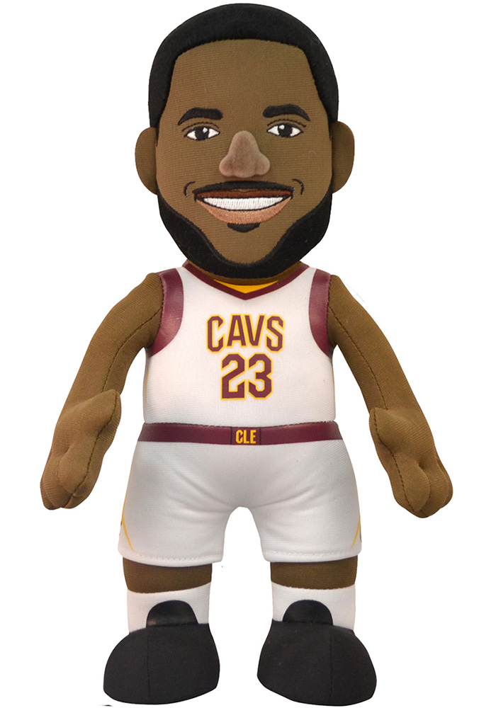 Cleveland Cavaliers LeBron James 10in Player Plush Home Plush - Image 1