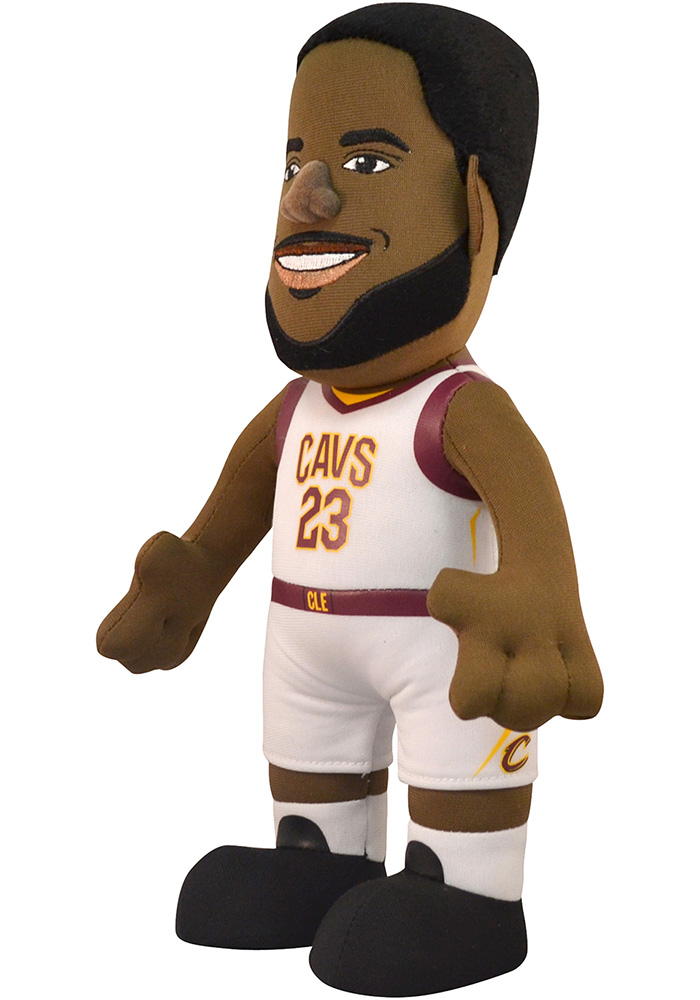Cleveland Cavaliers LeBron James 10in Player Plush Home Plush - Image 2