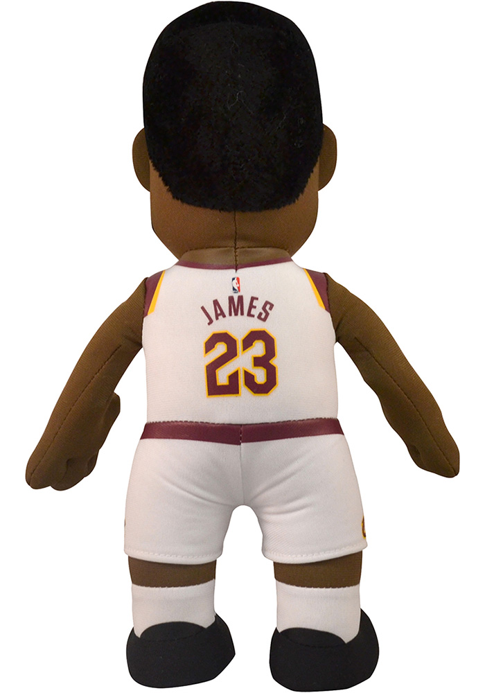 Cleveland Cavaliers LeBron James 10in Player Plush Home Plush - Image 3