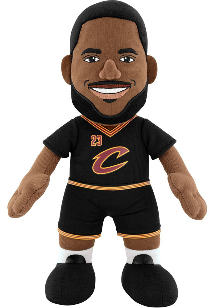 Cleveland Cavaliers LeBron James 10in Player Plush Plush - Image 1