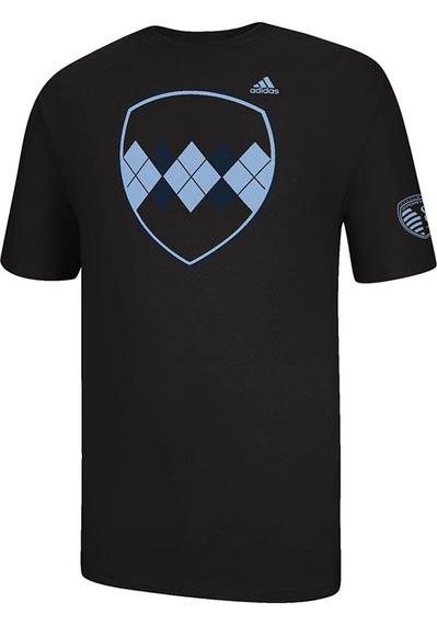 Sporting Kansas City Youth Black youth sporting kc jersey hook up t Short Sleeve T-Shirt - Image 1