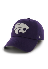 K-State Wildcats 47 Purple 47 Franchise Fitted Hat