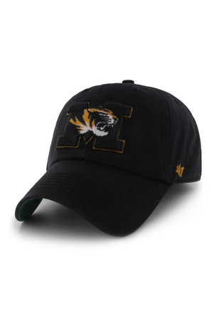 Missouri Tigers '47 Mens Black 47 Franchise Fitted Hat