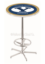 BYU Cougars Navy Pub Table
