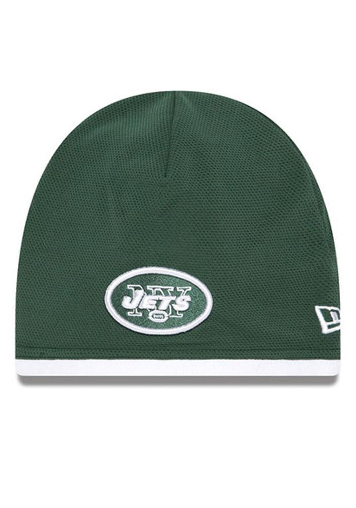 New Era New York Jets Green Tech Mens Knit Hat - Image 2