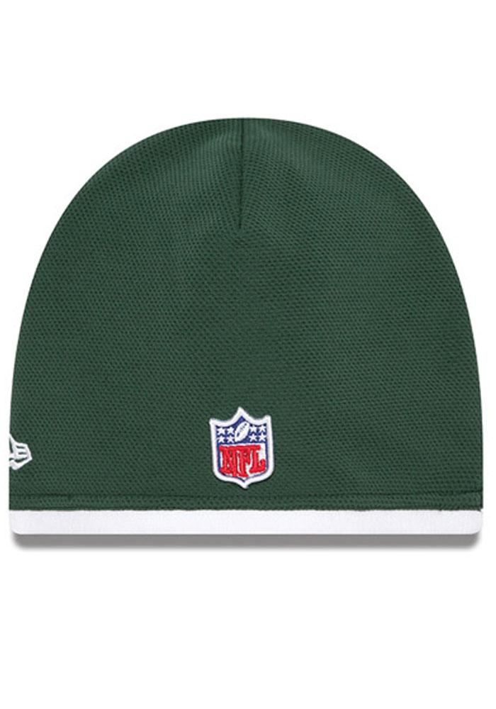 New Era New York Jets Green Tech Mens Knit Hat - Image 4