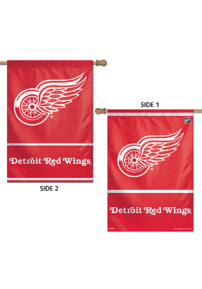 Detroit Red Wings 28x40 2 Sided Silk Screen Banner - Image 1