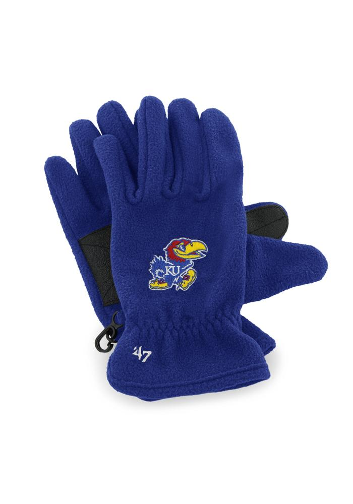 47 Kansas Jayhawks Fleece Gloves