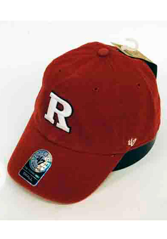 '47 Rutgers Scarlet Knights Mens Red Franchise Fitted Hat - Image 1